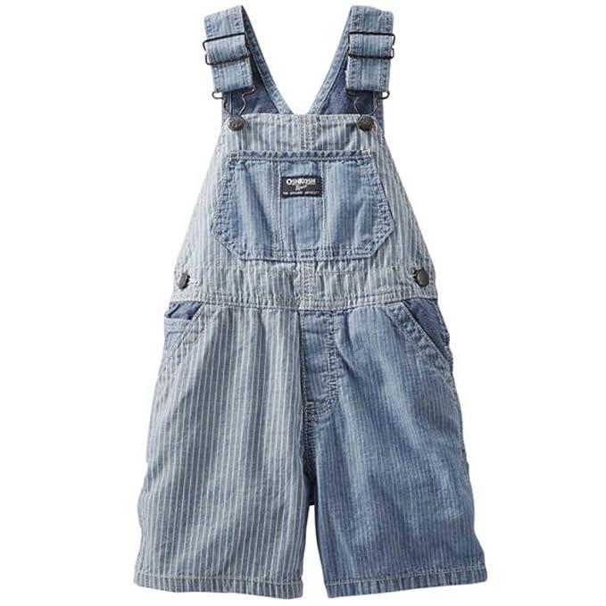 8c450dbc5 OshKosh B'Gosh - Pantalón de peto - para bebé niño azul 74 cm ...