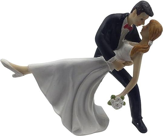 E Muse Danse Romantique Figurine Pour Gateau De Mariage
