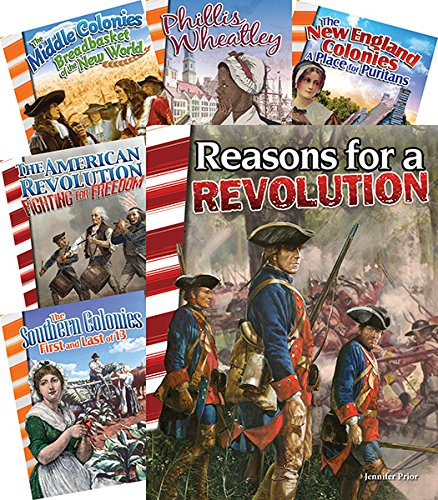 Download Colonization to Revolution 6-Book Set (Primary Source Readers) PDF