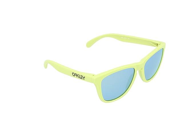 Oakley Frogskins gafas de sol, Amarillo, 55 Unisex-Adulto ...