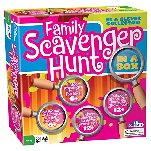 Scavenger Hunt - Indoor and Outdoor Fun for Kids
