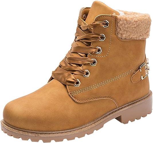Bottine Femme Bottes Boots de Neige Zomiee Bottes Chaude VMzSpGjLqU