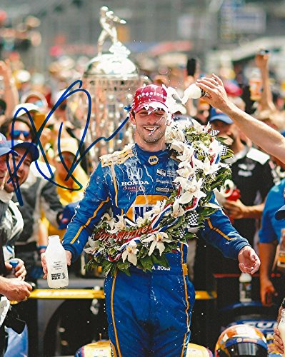 ALEXANDER ROSSI signed 8x10 INDY 500 MILK photo IRL INDY with COA - Autographed NASCAR Photos ()