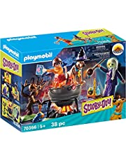 PLAYMOBIL SCOOBY-DOO! Adventure in the Witch's Cauldron Playset