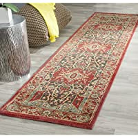 Safavieh Mahal Collection MAH625D Traditional Oriental Red Runner (2 2 x 14)