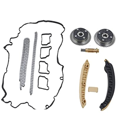 Amazon com: Ensun Camshaft Timing Chain Gear Set Actuator Kit for