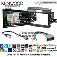Volunteer Audio Kenwood DNX574S Double Din Radio Install Kit with GPS Navigation Apple CarPlay Android Auto Fits 2012-2016 Honda CR-V
