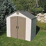 lifetime 8u0027 x 5u0027 resin storage shed