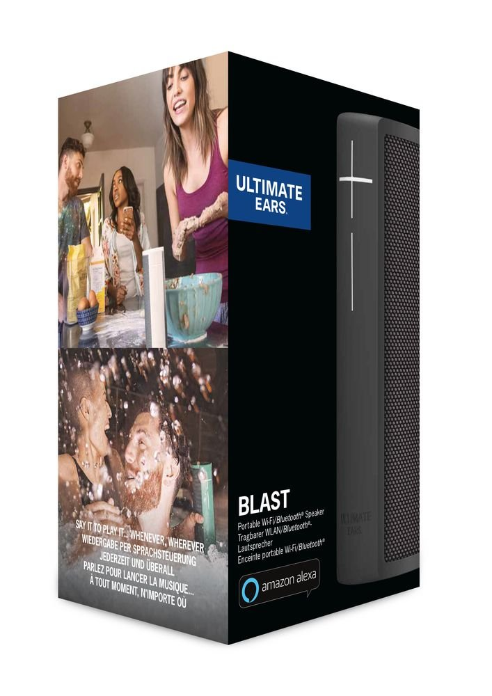 Ultimate Ears BLAST & MEGABLAST Bluetooth Lautsprecher mit Amazon Alexa