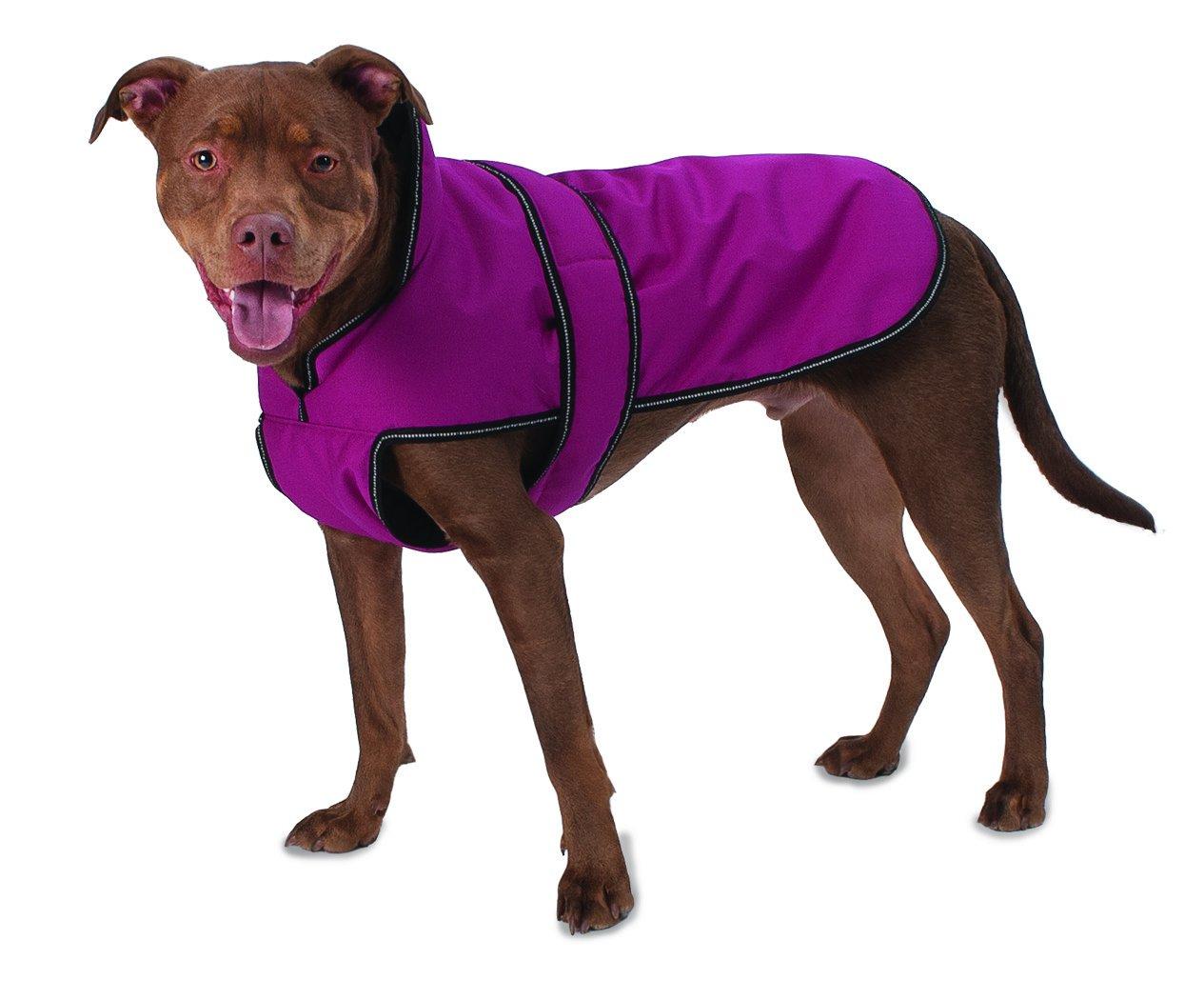 Pet Rageous 7303MXL Juneau Coat, X-Large, Magenta