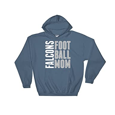 acc68f59 Falcons Football Mom Hoodie - Foot Ball Mother - Falcon Pride - High ...