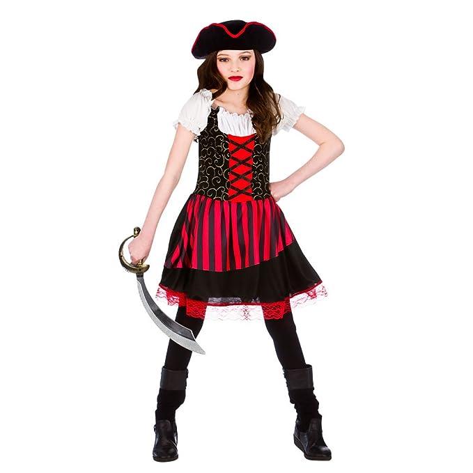 Amazon.com Girls Pretty Pirate Girl Costume for Buccaneer