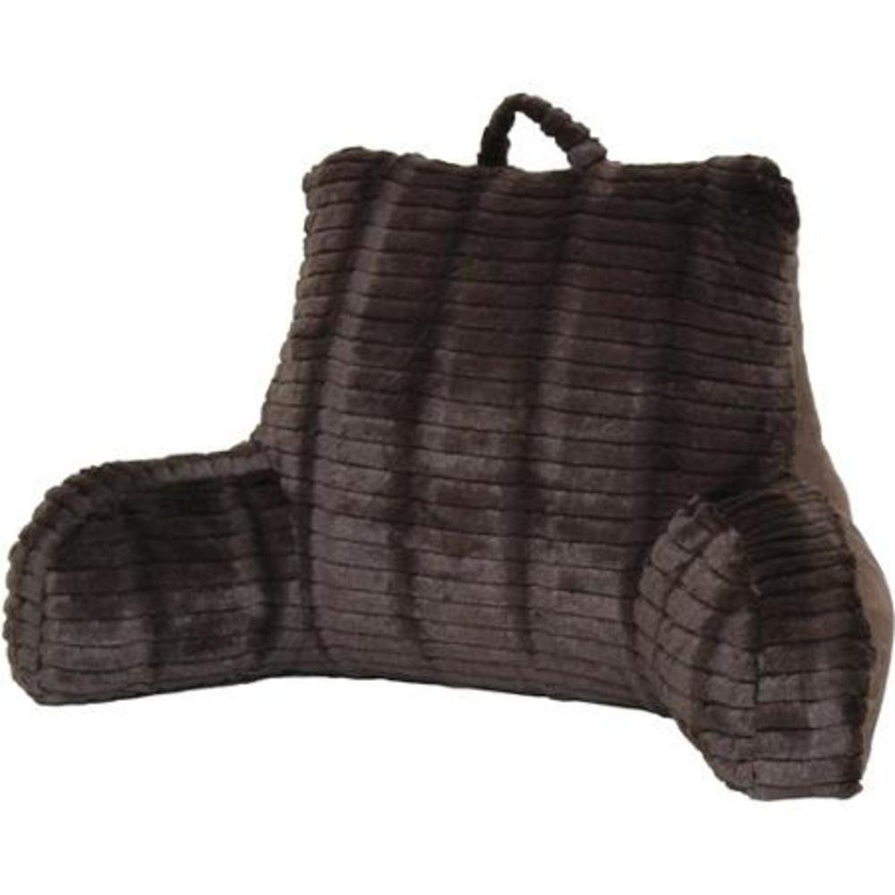 Bed chair pillow walmart - Cut Faux Fur Chocolate Bedrest Reading Posture Arm Pillow Soft Back Support Bed Rest
