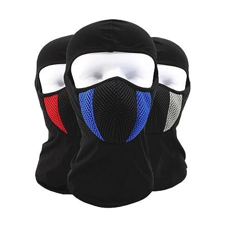 Gafas máscara de cara resistente al viento sol polvo frío ...