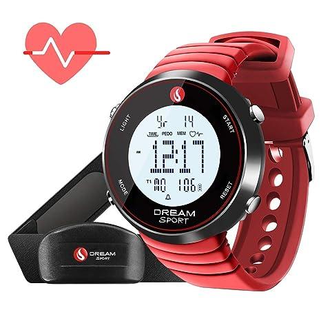 Dreamsport Relojes Pulsometros con Sensor Frecuencia Cardíaca Pulsera Actividad