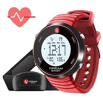 Dreamsport Relojes Pulsometros con Sensor Frecuencia Cardíaca Pulsera Actividad: Amazon.es: Deportes y aire libre