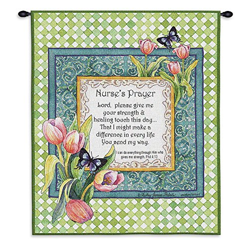 Pure Country Inc. Nurse's Prayer Wall Tapestry