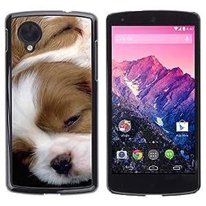 Vortex Accessory Carcasa Protectora Para Lg Google Nexus 5 D820 D821 - Pointer English Foxhound Jack Russell Puppy -