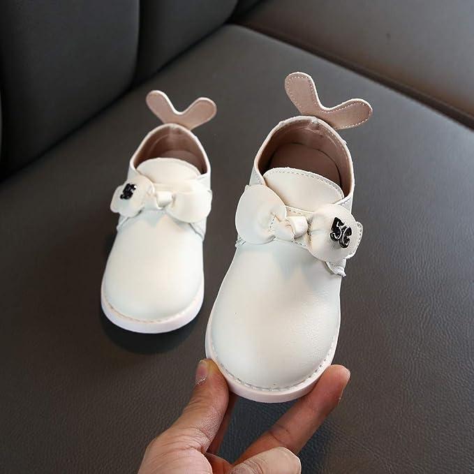 Zapatos de Princesa de Otoño e Invierno para Niñas Zapatos de Arco ...
