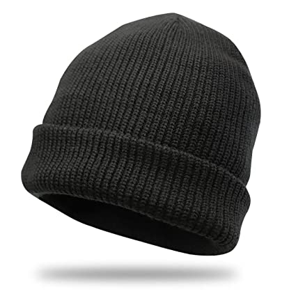 26be941866e Divine Shield Beanie Hat Knit Cuff Winter Outdoor Hat Warm Stretchy   Soft Beanie  Caps for