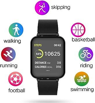Amazon.com: Loinhgeo B57 - Reloj inteligente con pantalla ...