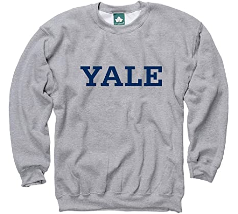 be73c5e7 Ivysport Yale University Sweatshirt Classic Logo, 85% Cotton / 15%  Polyester, Heather
