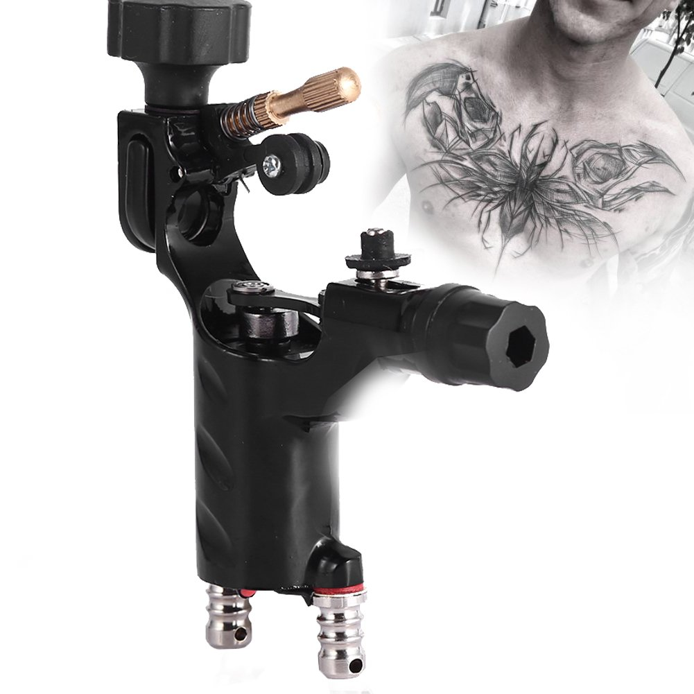 Tatuaggi Rotativa Del Tatuaggio Mitragliatrice Tattoo 11000rpm Rotary Machine Professionale Strumento di Trucco Artista Cavo (Viola) Brino