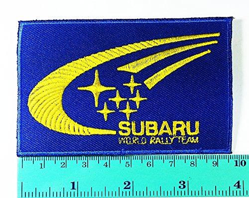 Subaru Patch Motorsport Car Racing Sport Automobile Car M...