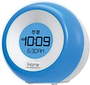 iHome iM29SC Color Changing Dual Alarm FM Clock Radio with USB Charging