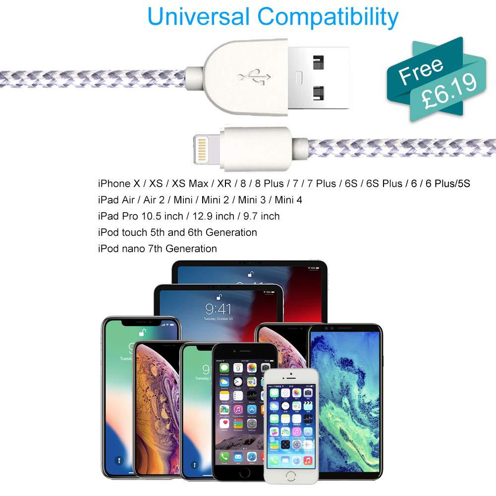 grabaci/ón en Bucle y detecci/ón de Movimiento con 2 Cables USB para iPhone de 1,8 m Anmyox 2019 C/ámara de salpicadero para Coche Gran Angular de 140 /° Full HD 1080P Sensor G