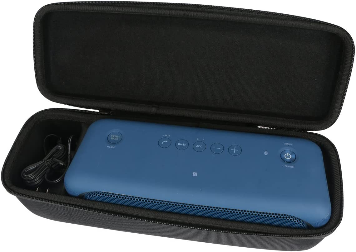 para Sony XB40 portátil altavoz inalámbrico Bluetooth EVA Duro Viaje Estuche Bolso Funda por Khanka