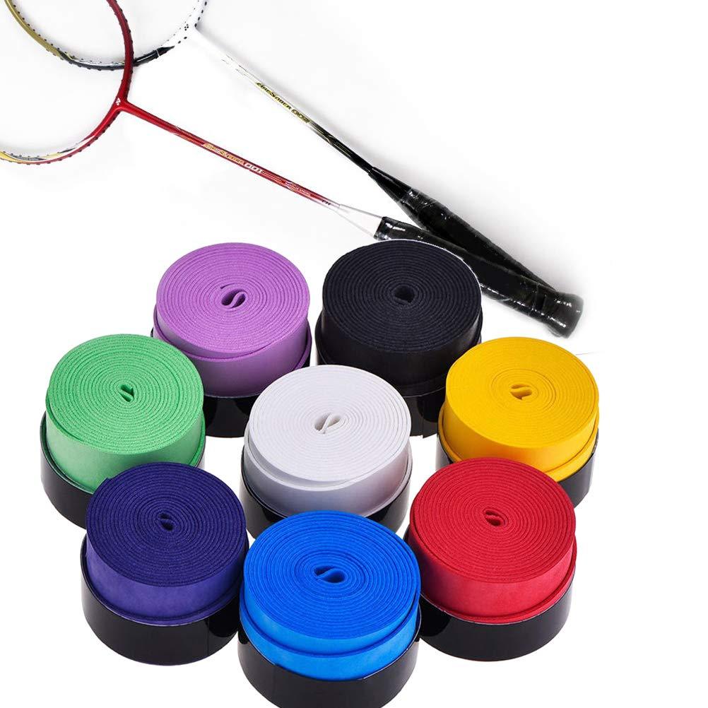 LIOOBO 10pcs Raqueta de Tenis Grip Tape Overgrip Wrap ...
