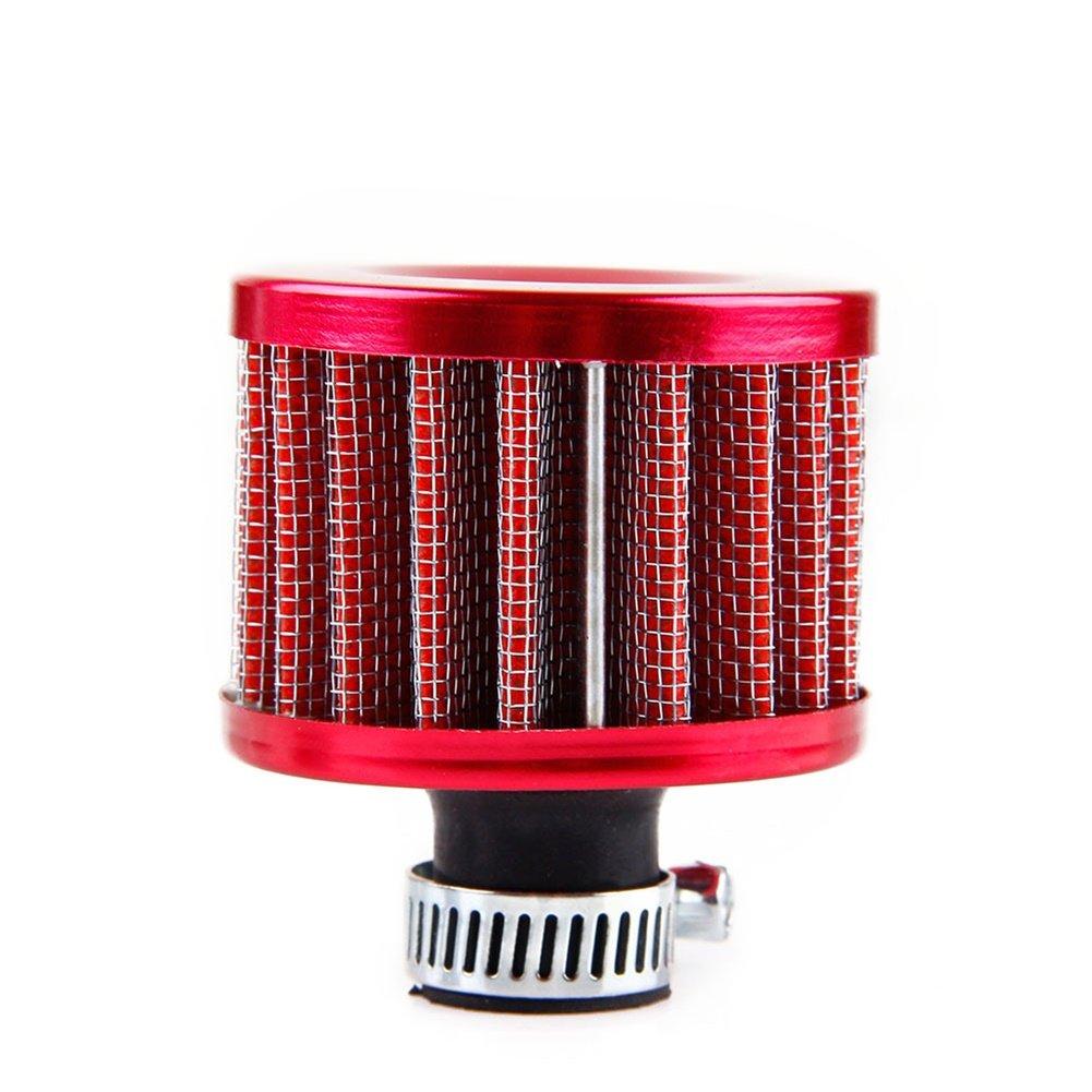 12 mm Ocamo Filtro de aire para motocicleta ventilaci/ón turbo