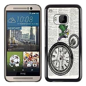 Dragon Case - FOR HTC One M9 - not let yourselves? - Caja protectora de pl??stico duro de la cubierta Dise?¡Ào Slim Fit
