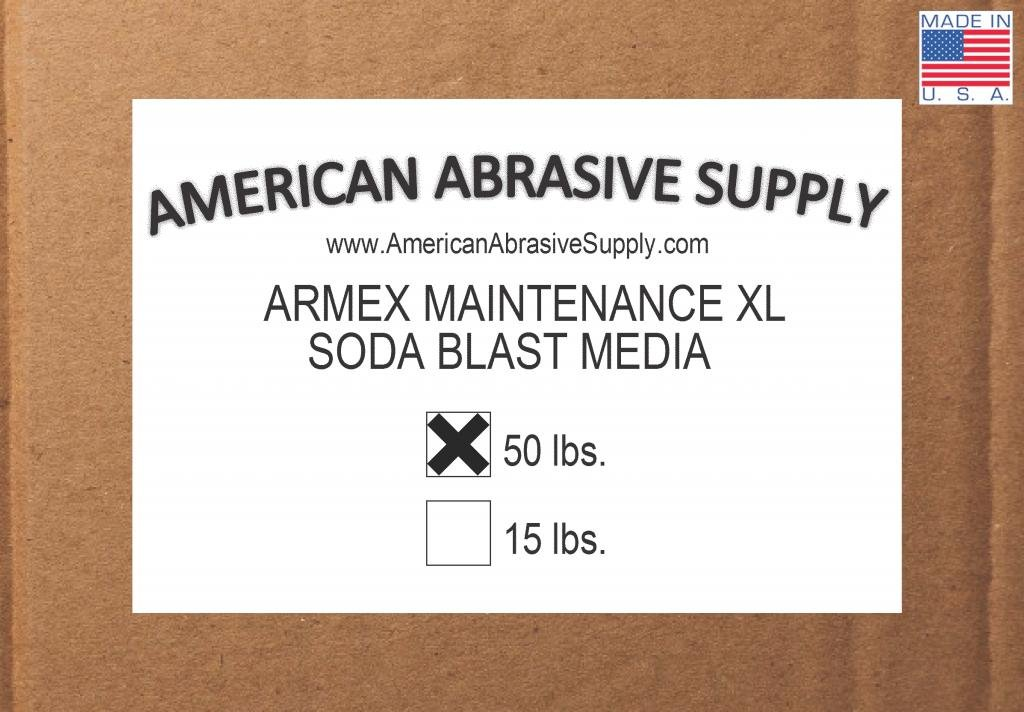 Armex Maintenance XL Soda Blast Media (50 lbs.)