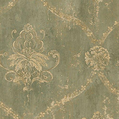 (Norwall CH22568 Regal Damask Wallpaper)
