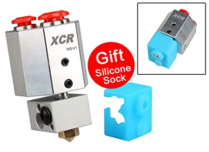 Piezas de impresora 3D XCR WS-V1 refrigerado por agua Hotend todo ...