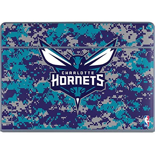 Skinit NBA Charlotte Hornets Galaxy Book Keyboard Folio 12in Skin - Charlotte Hornets Digi Camo Design - Ultra Thin, Lightweight Vinyl Decal Protection