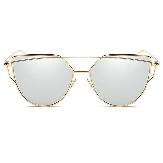 b3676213196f1 Homesuns Sunglasses Women Luxury Cat eye Brand Design Mirror Flat Rose Gold  Vintage Cateye Fashion sun