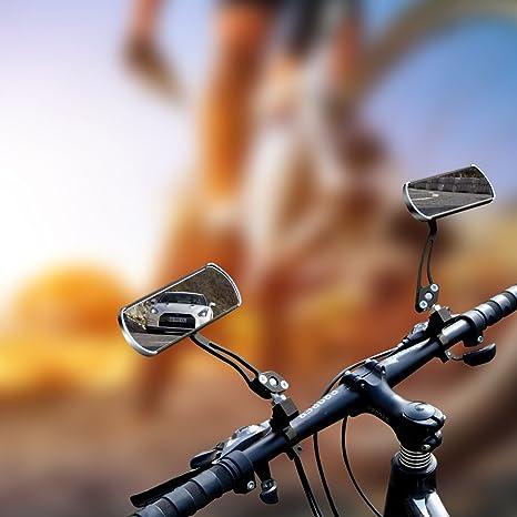 JINSANSHUN jinsan Shun Bicicleta Espejo 2PCS. Bicicleta de montaña ...