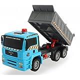 "Dickie Toys Air Pump Action Dump Truck, 11"""