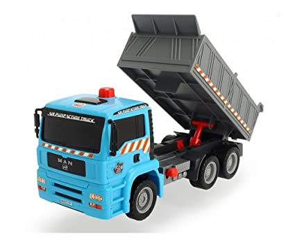 Dickie Toys Air Pump Action Dump Truck 11quot