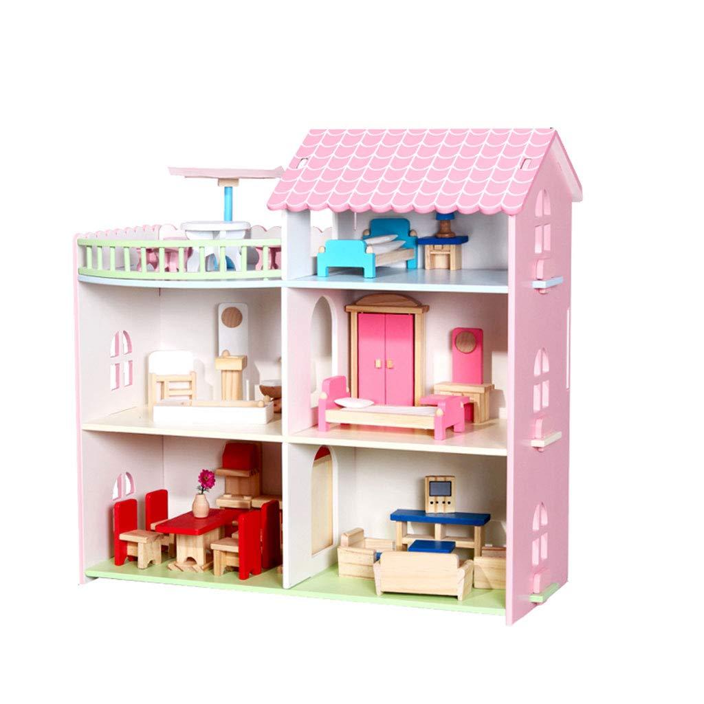 子供の赤ん坊の家を演じる役割かわいいおもちゃ、子供は教育的なおもちゃをするふりをする (Color : F)   B07G7CZQMX