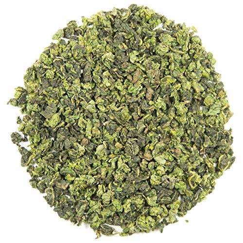 Iron Goddess Tie Guan Yin Loose Leaf Chinese Tea - Hong Kong Tea Company Sourced Premium AAA Grade Ultra-Fine Oolong Tea - 1.5oz