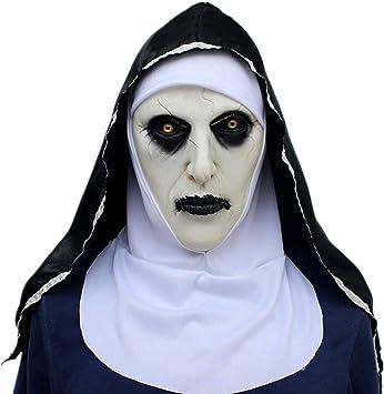 ZAMAC Terror Máscara de Halloween Látex Adulto Novedad Horror ...
