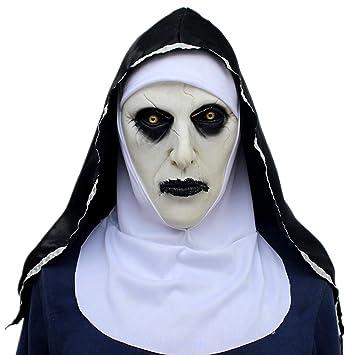 ZAMAC Terror Máscara de Halloween Látex Adulto Novedad Horror Espeluznante  Cabeza Máscaras Cara Fiesta de Disfraces 63b51862ad4