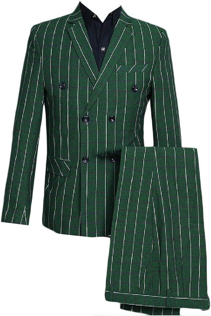 Andopa Mens Wedding Casual Fashion 2 Piece Suit Coat Jacket Blazer Outwear