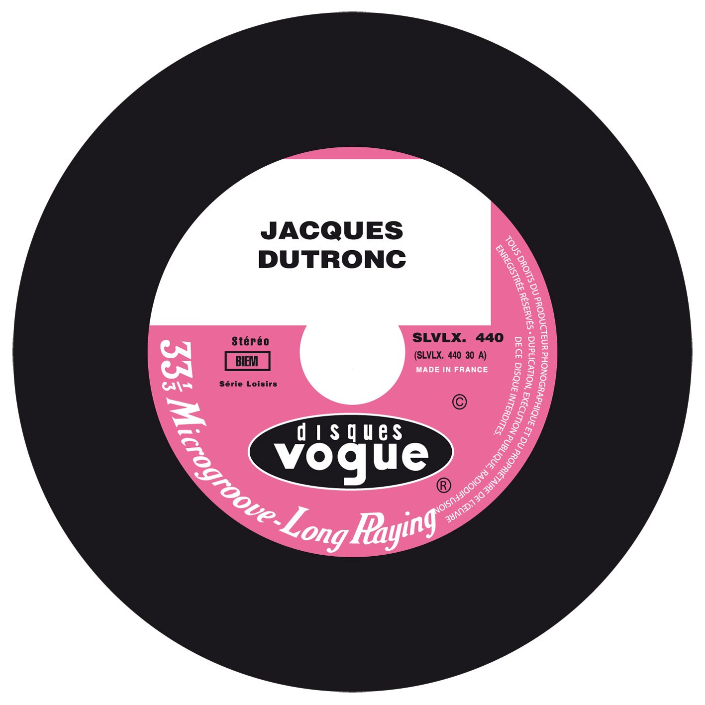 Jacques Dutronc - The Vogue Years Replica