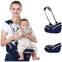 Baby Hip Seat Carrier Baby Waist Stool for Child Infant Toddler with Adjustable Strap Buckle Pocket Soft Inner Huge…