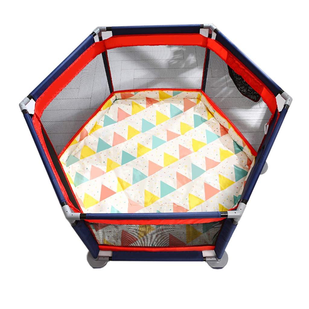 ベビーベビーサークル| 子供用セーフティプレーヤーCrawling Mat | フィットフロアマットと鮮やかな色のプレイボール|ビスタプリント 強く、耐久高品質の無毒   B07SRR85PX